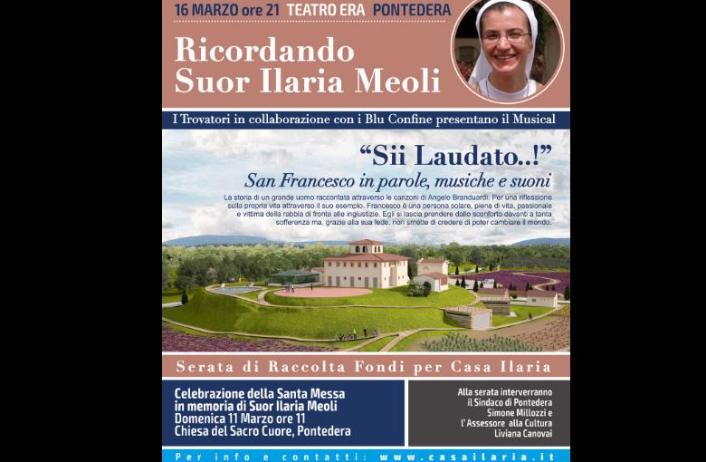 Locandina Ricordando suor Ilaria Meoli