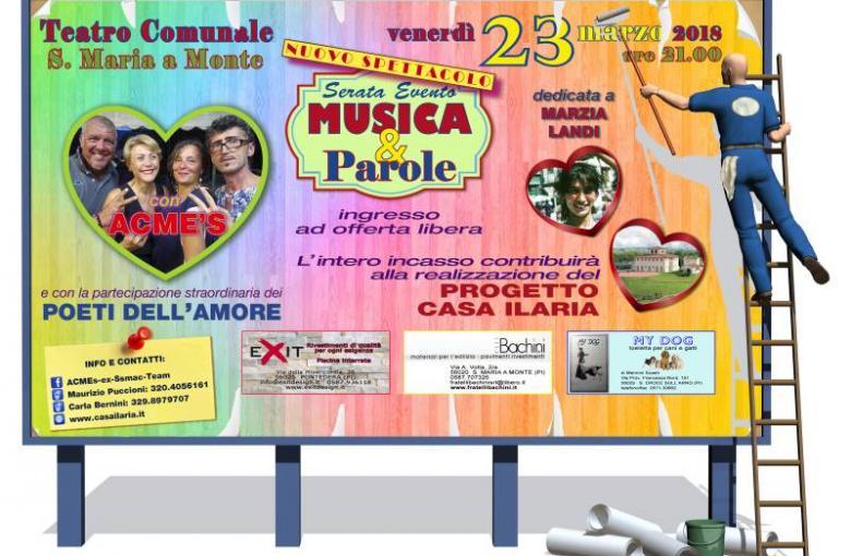Evento Musica e Parole