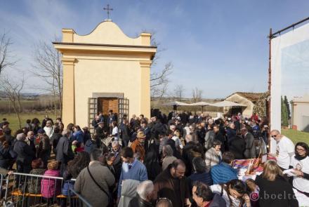 Inaugurazione cappella Sant'Ippolito